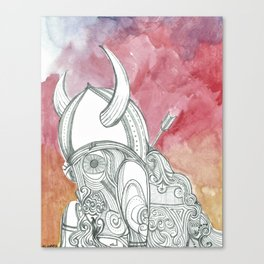 The Viking Canvas Print