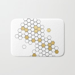 Honey Comb Bath Mat