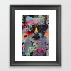 Graffiti Wall NYC Framed Art Print
