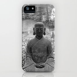 Sitting Buddha iPhone Case