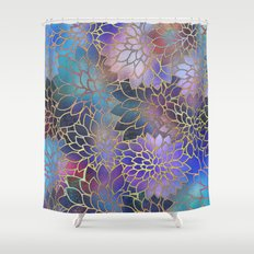 Floral Abstract 5 Shower Curtain