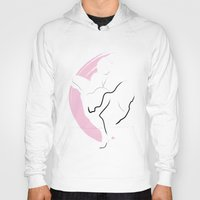 monroe Hoodies featuring Monroe by Digital Sketch