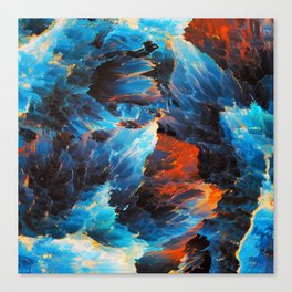Cold Magic Canvas Print