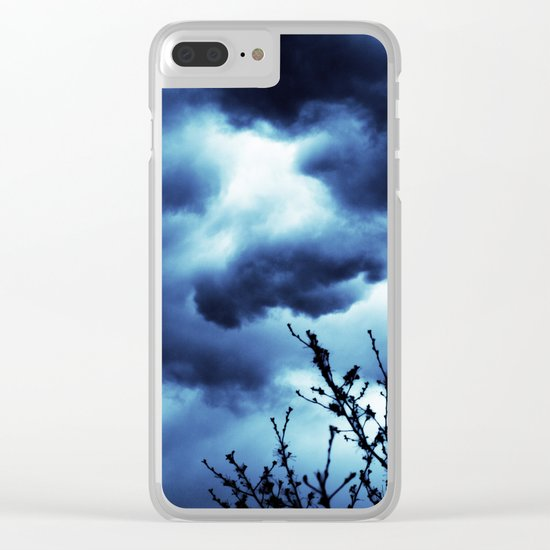 Dark and Stormy Clear iPhone Case