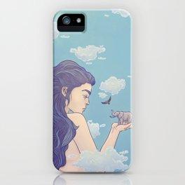 Gigantic Lady iPhone Case