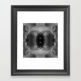 tunnel walker Framed Art Print