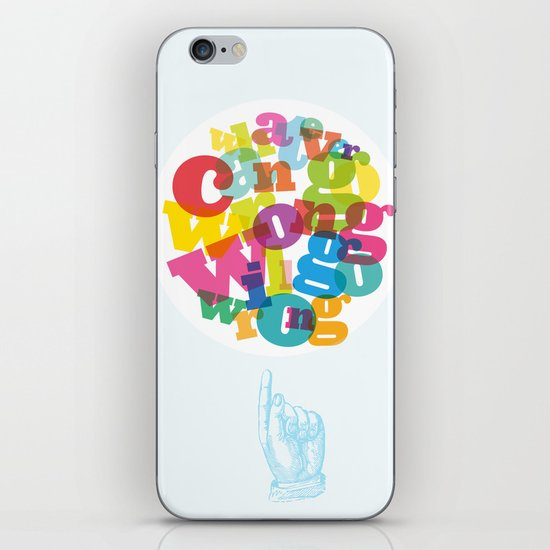 Whatever can go wrong will go wrong iPhone & iPod Skin