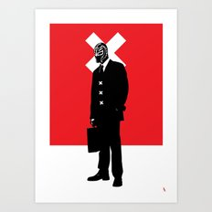 Weekend Warrior Art Print
