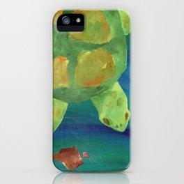 Floating Along iPhone Case