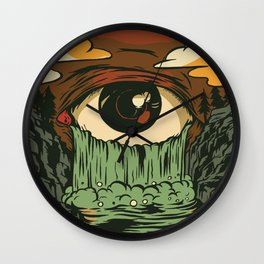Toxic Tears Wall Clock