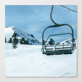 The Slopes Canvas Print