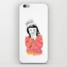 The Invisible Crown iPhone & iPod Skin