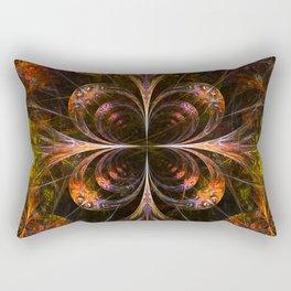 Autumn Forest - Fractal Artwork Rectangular Pillow