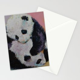Baby Panda Rumble Stationery Cards
