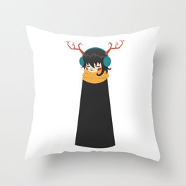 Nil Throw Pillow