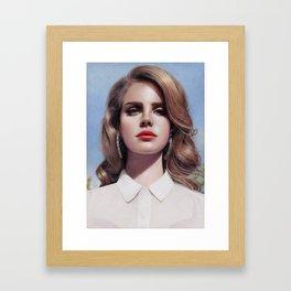 Lana - Born To Die Framed Art Print