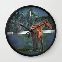 Looking On Wall Clock
