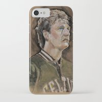 larry iPhone & iPod Cases featuring Larry by Chelsey Boehnke