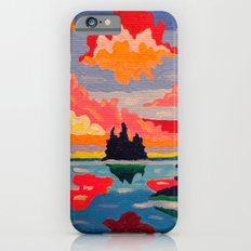 Northern Sunset Surreal  iPhone 6s Slim Case