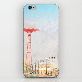 Brooklyn's Eiffel Tower iPhone Skin