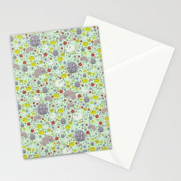Cute Rats and Mice Stationery Cards