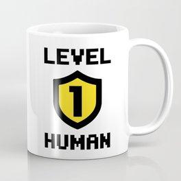 Level 1 Human Coffee Mug