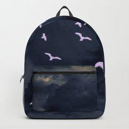 Flying under the moonlight Backpack