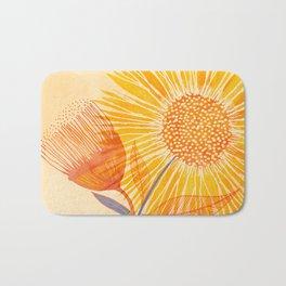 Tuesday Afternoon Sunflowers Bath Mat
