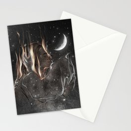 Your gifted night. Stationery Cards