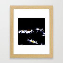 Light in the darkness Framed Art Print