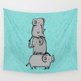 Elephant Totem Wall Tapestry