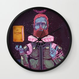 Camões Wall Clock
