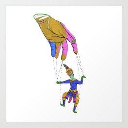 Puppet Master Art Print