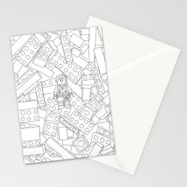 The Lego Movie — Colouring Book Version Stationery Cards
