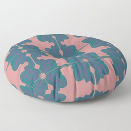 Luxury vint. mandalas BLUE PINK Floor Pillow