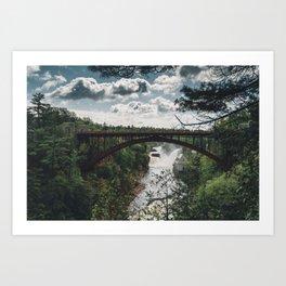 Ausable Chasm - New York, USA Art Print