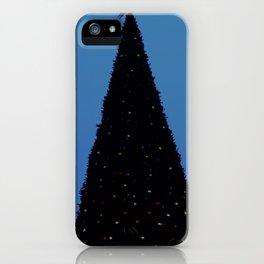 The Christmas tree. Yolochka. iPhone Case