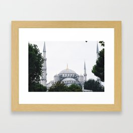 Blu Framed Art Print