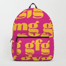 Type spacing 01 Backpack