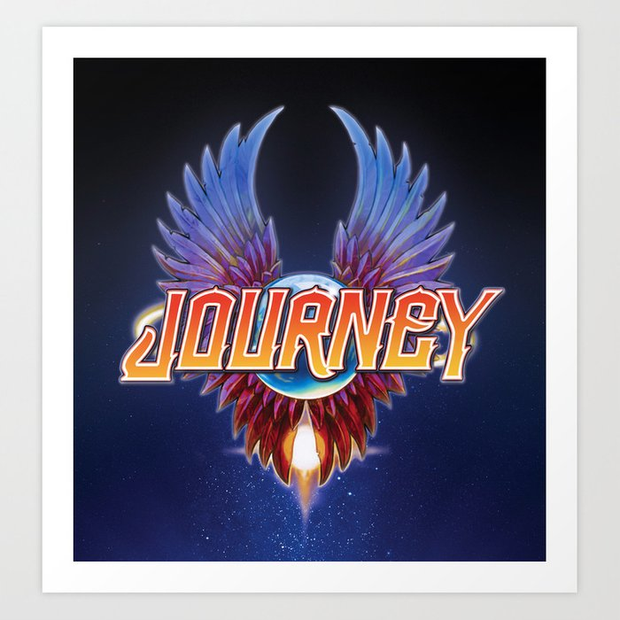Journey Band Tour 2020 journey band album tour 2019 2020 terserah Art Print by ard293