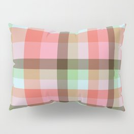 Fibonacci Gird Neapolitan with Mint & Cotton Candy Pillow Sham