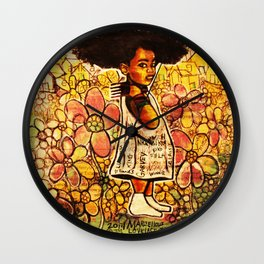 2014 Intelligent Black Child ( never let your oppressor judge you )  Wall Clock