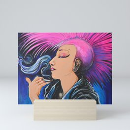 Punk Noveau Mini Art Print