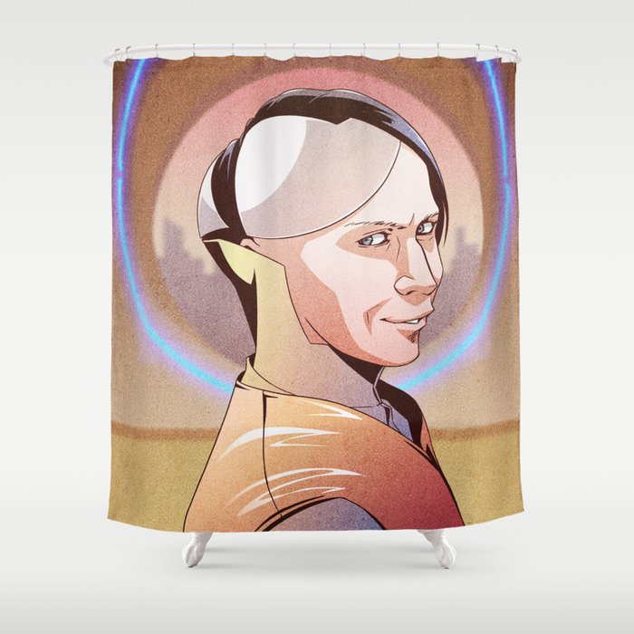 Chaos (Zorg - The Fifth Element) Shower Curtain by panastamos ...
