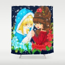 Goddesses of Winter Shower Curtain
