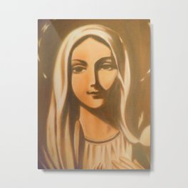 The Virgin Mary Metal Print