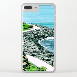 Soul Purification Clear iPhone Case