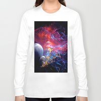 medusa Long Sleeve T-shirts featuring Medusa by Art-Motiva