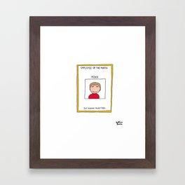 #163 Framed Art Print