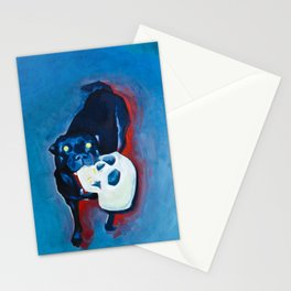 HOT NIGHT HOUND Stationery Cards